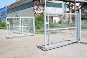 Распашные ворота для заграждения МАХАОН-4