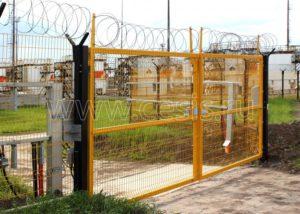 Распашные ворота для заграждения МАХАОН-С150
